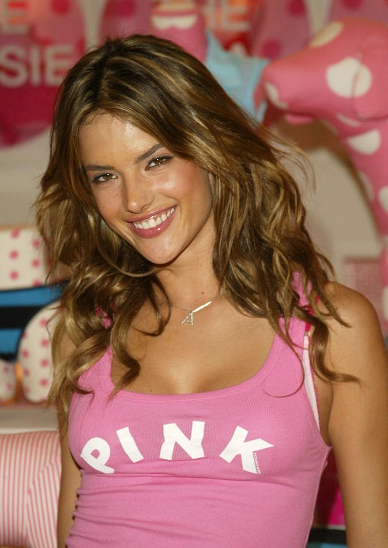 "Alessandra Ambrosio Hosts \""Pink\"" Event At Victoria's Secret"