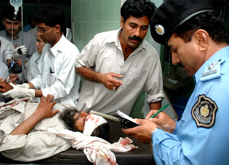 INJURED MAN POLICE