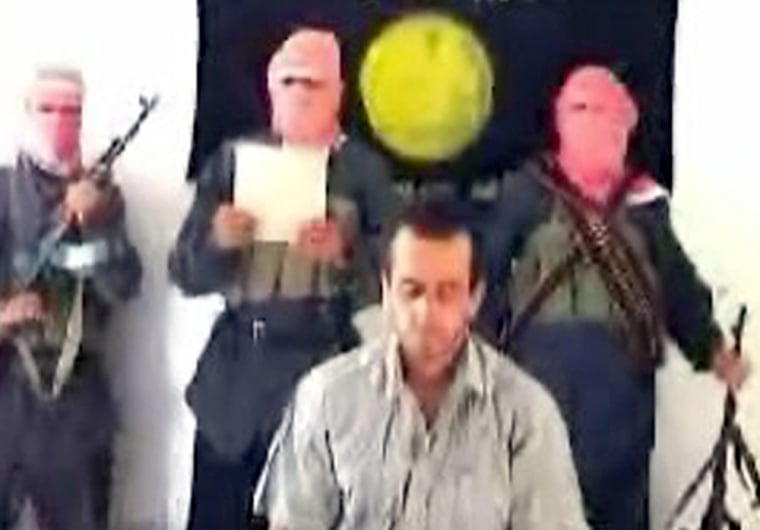 An Islamist Web site showed photographs of what it said was the killing of a Turkish hostage in Iraq