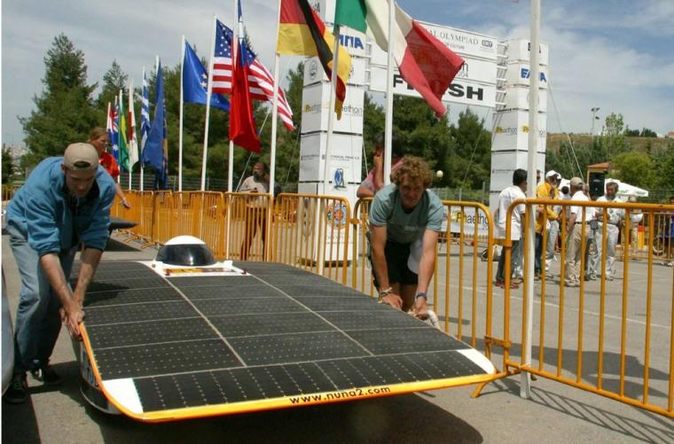 GREECE SOLAR CAR RACE