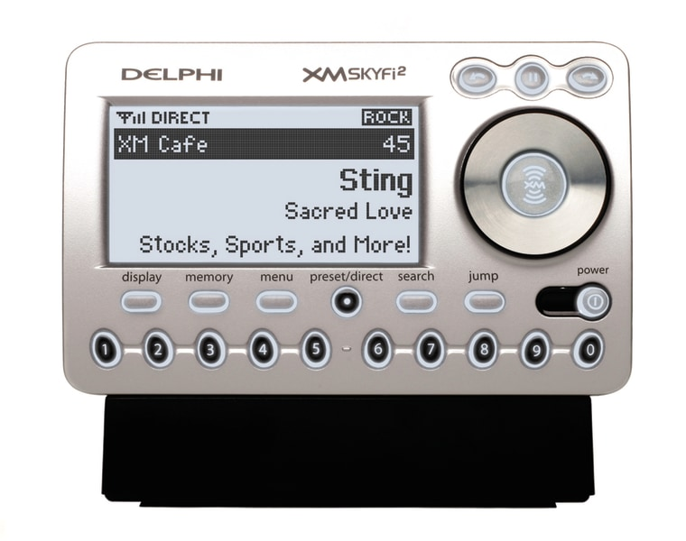 The Delco SkyFi2 is the successor to XM's biggest all-time seller.
