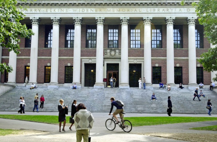 No surprise here: Harvard is considered one of the best colleges in the nation.