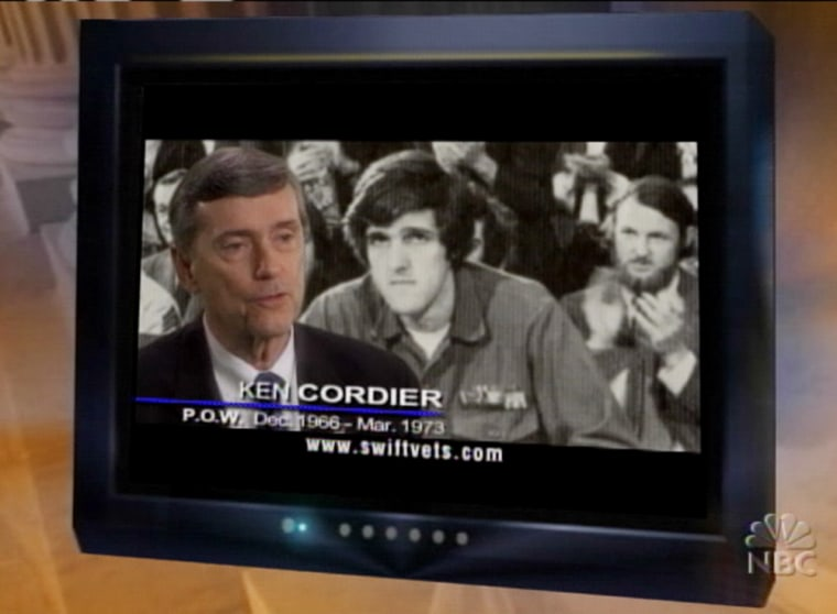 The new television ad being aired by John Kerry's foes, the Swift Boat Veterans for Truth