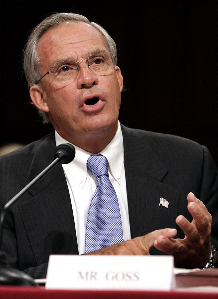 Congressman Goss speaks at Senate Intelligence Committee