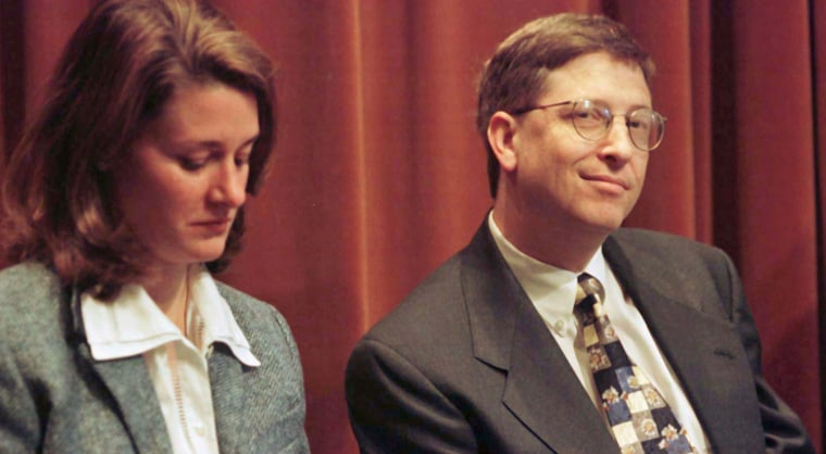 FILE PHOTO OF BILL AND MELINDA GATES