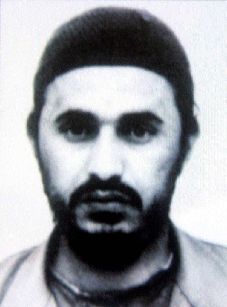 FILE PHOTO OF AL QAEDA OPERATIVE ABU MUSAB AL-ZARQAWI