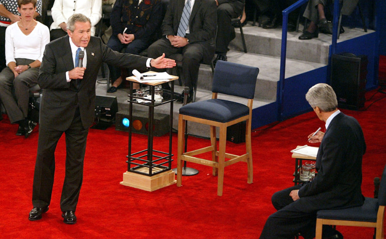 Bush And Kerry Debate For A Second Time In St. Louis