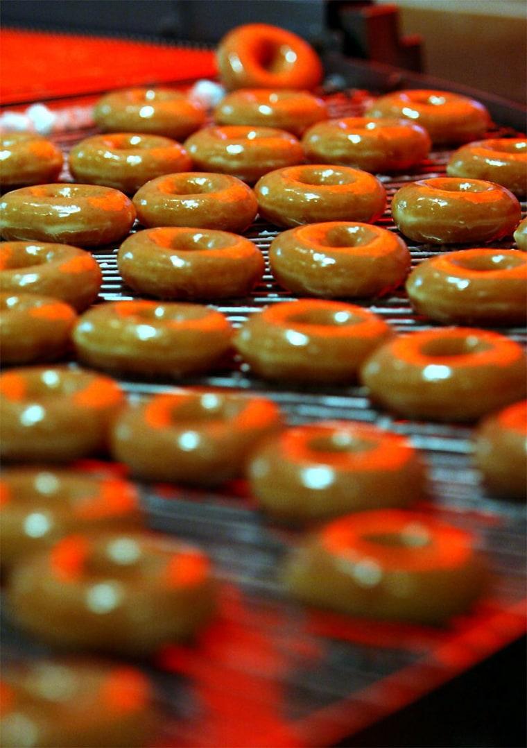 First Krispy Kreme Shop In Britain Opens