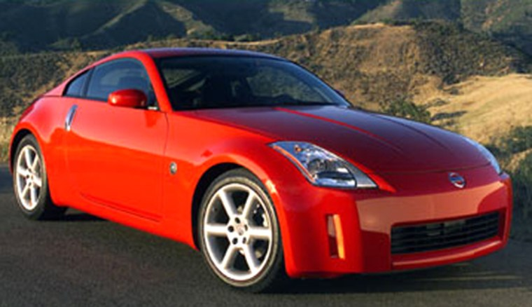 Nissan's350Z and its 3.5-liter, 287-hp V-6 engine are an absolute gas.