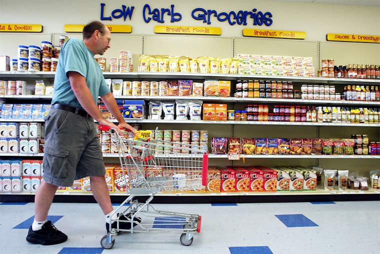Low Carb Food Stores Gain Popularity