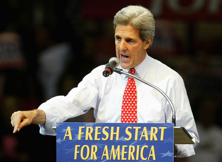 Kerry Campaign Swings Into Detroit