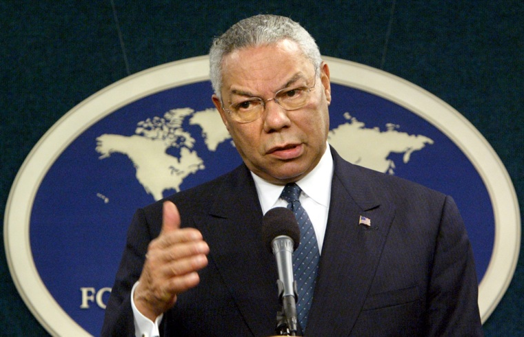 Colin Powell has long been considered to be a one-term secretary of state.