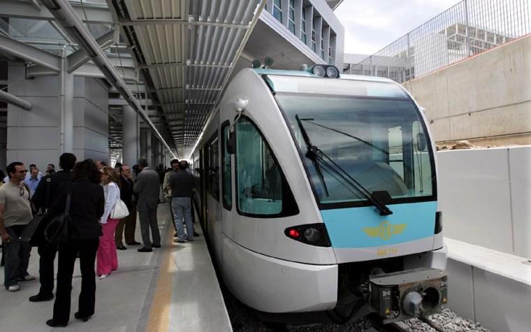 Image: Greece's new rail line