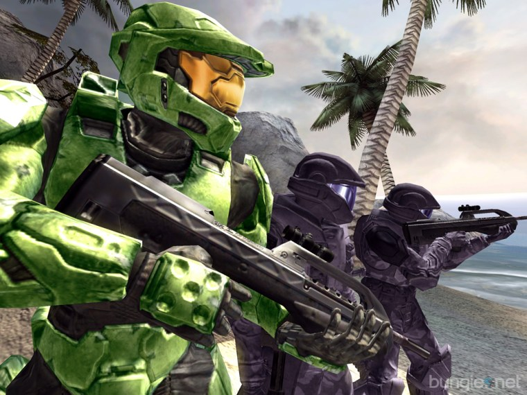 "The Master Chief is back in Xbox's ""Halo 2."""