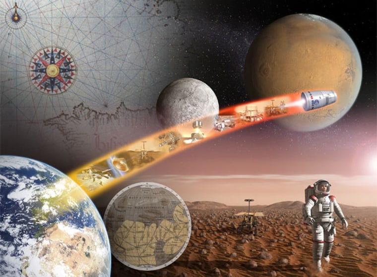 Will Mars represent the next giant leap for exploration?