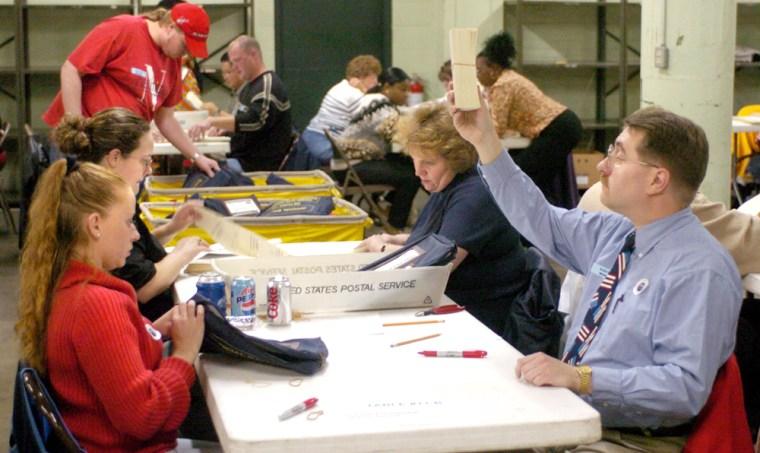 Ohio Voters Go To The Polls
