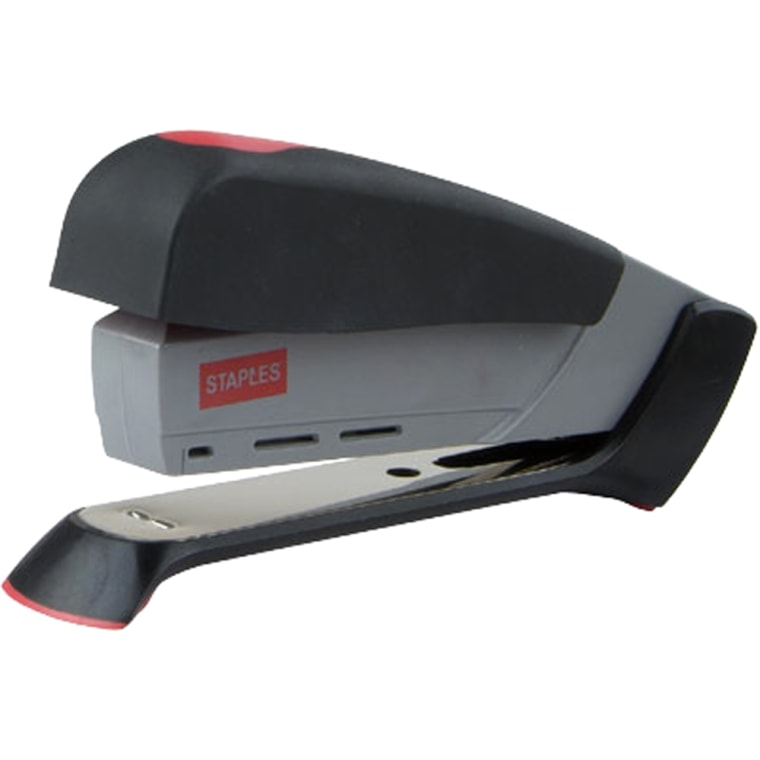 The One-Touch Stapler's secret weapon is its lever.