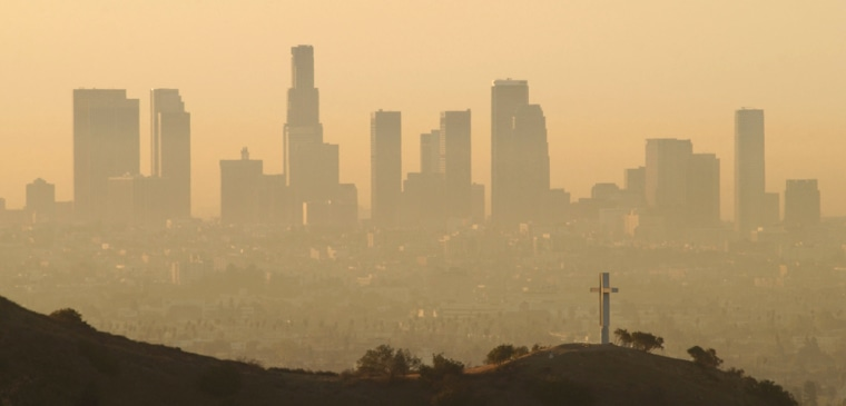 Los Angeles Air Still Among Nation's Dirtiest