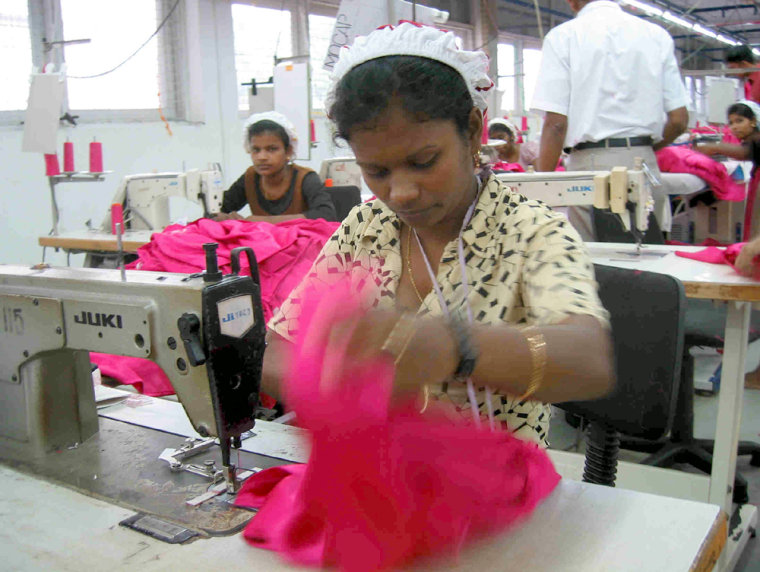 The Union Apparel factory in Colombo could be wiped out by looming competition from lower cost operations in China.