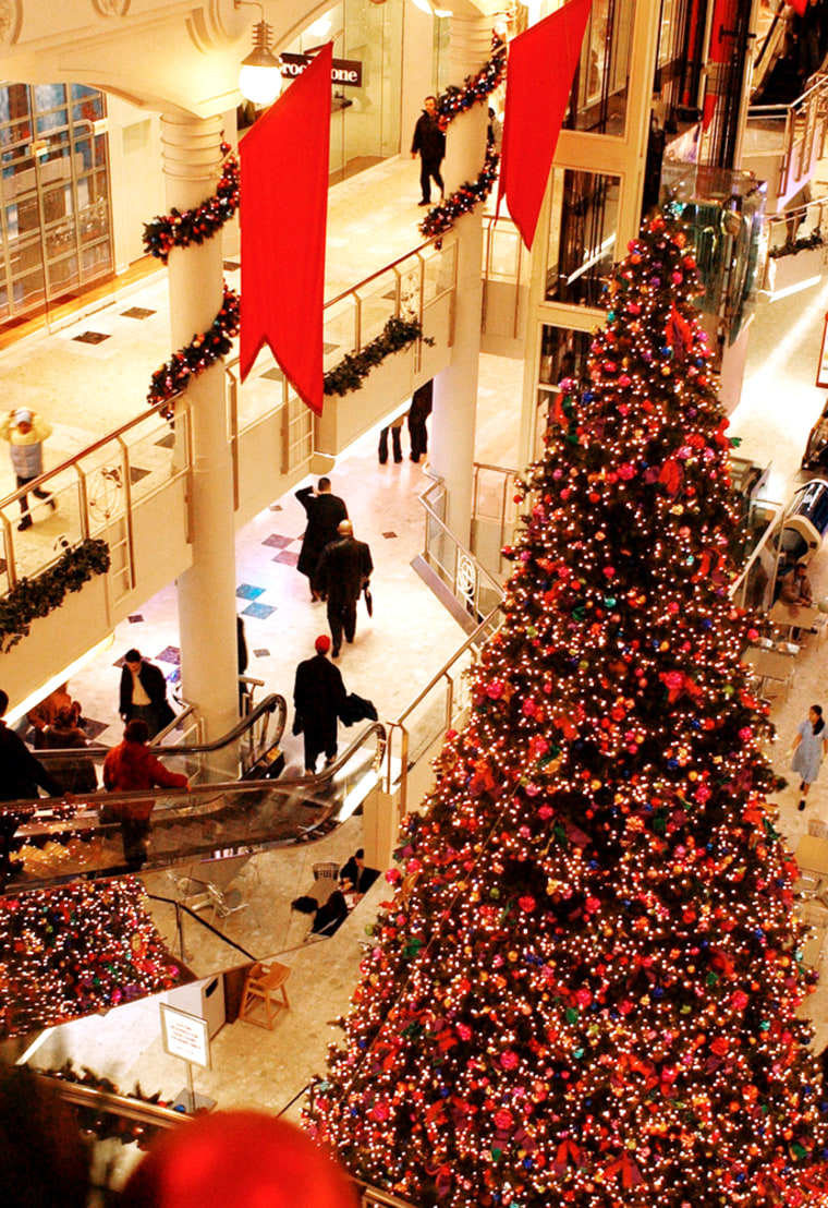 With many retailers deriving half their annual profits during the holiday season, the race is on to lure shoppers to the mall.