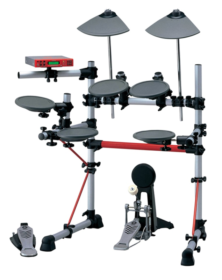 Yamaha's DTX III electronic drum kit offers a much quieter alternative to traditional percussion.