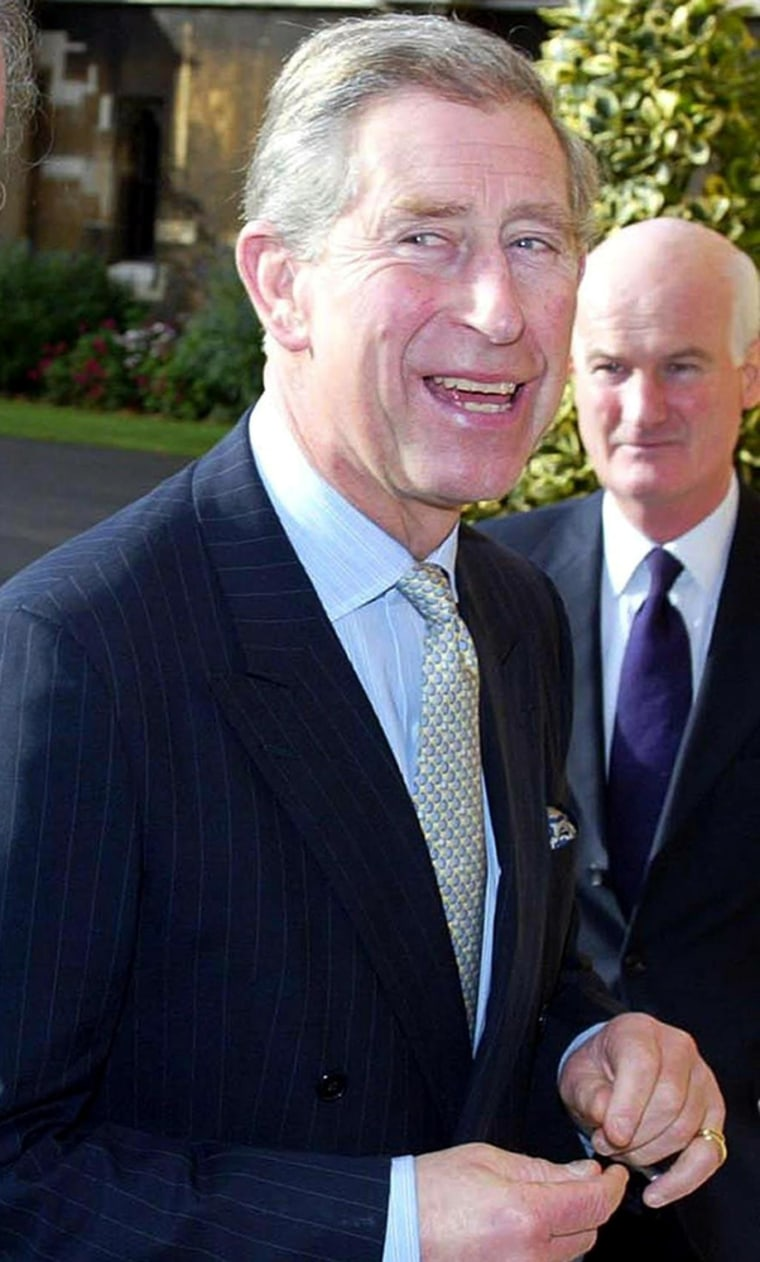 Britain's Prince Charles arrives Monday at Lambeth Palace in London.