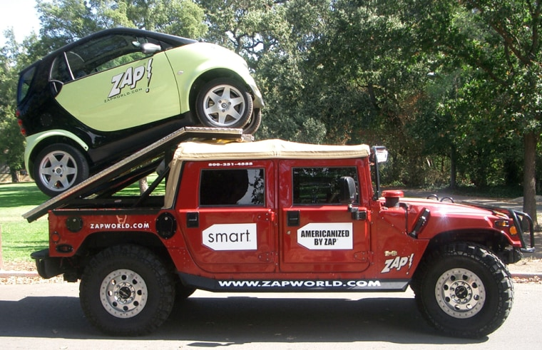 ZAP AND SMART CAR