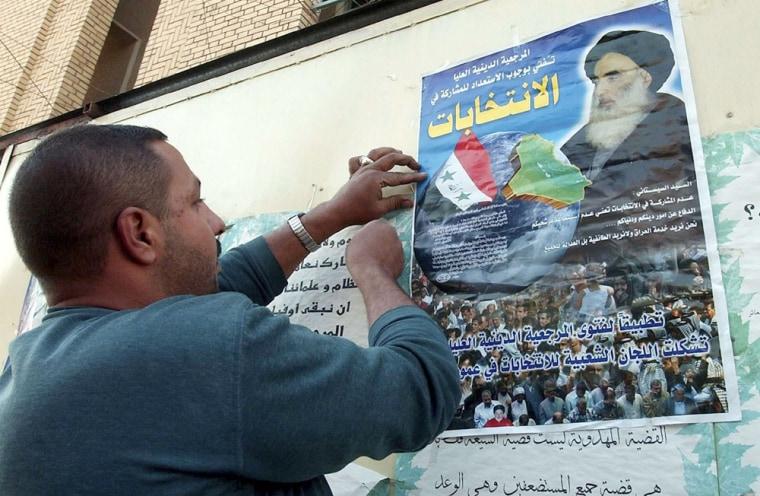 IRAQ BAGHDAD ELECTIONS