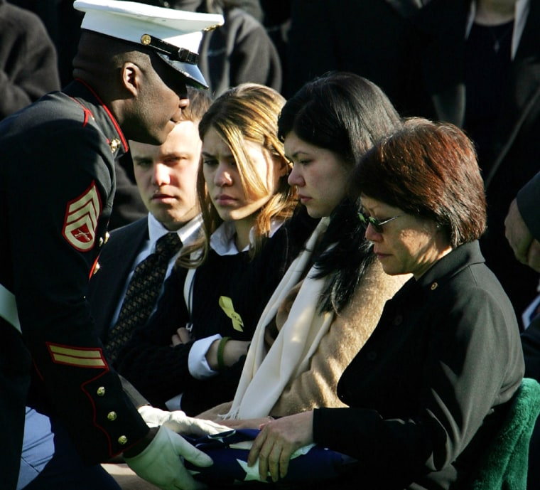 Soldier Killed In Iraq Laid To Rest At Arlington National Cemetery
