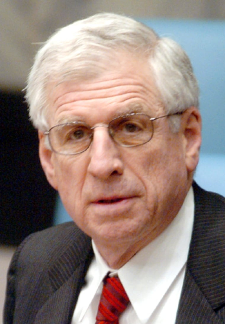 U.S. Ambassador to the United Nations Danforth chairs meeting