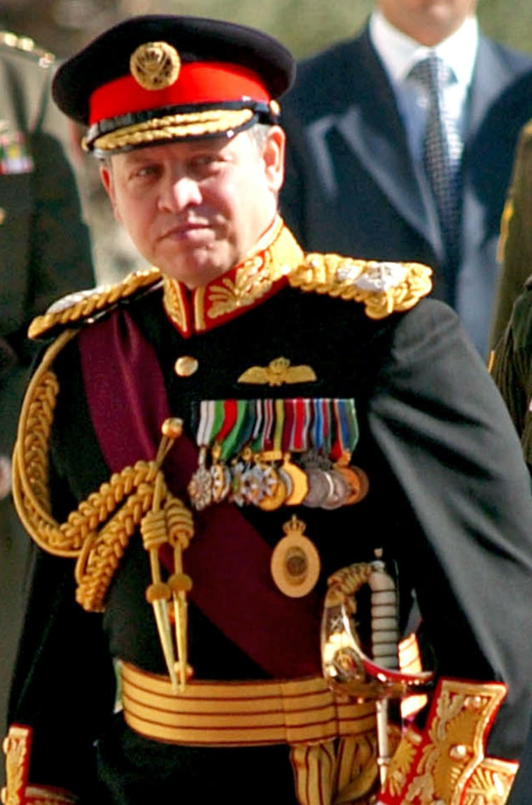 King Abdullah attends inaugural session - Amman