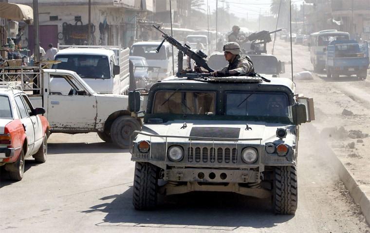 Baqouba, Iraq remains relatively quiet three days before handover.