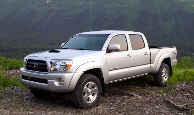 The 2005 Toyota Tacoma was named Motor Trend's truck of the year, beating out the Dodge Dakota, the Ford F-250/F-350 Super Duty, the Hummer H2 SUT and the Nissan Frontier for the top honor.