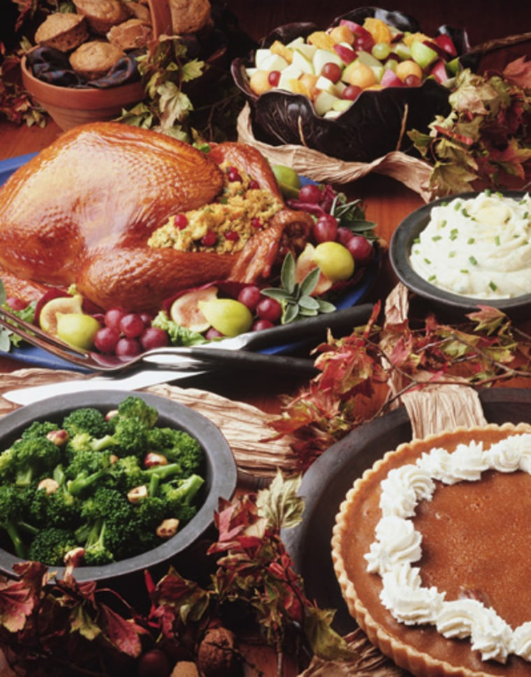 While nutritionists caution against many of the staples of the traditional feast this holiday season, some Bible-based programs would counsel: Eat up.