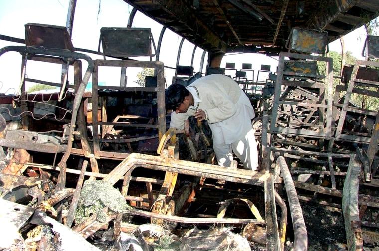 PAKISTAN FATAL ACCIDENT