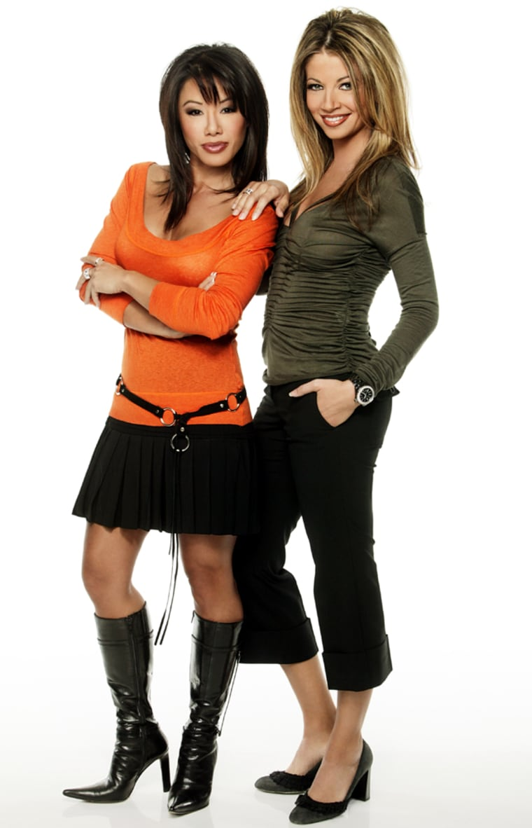 """Emmy Award-winning journalist Sharon Tay (left) hosts """"MSNBC Hot List"""" and """"MSNBC at the Movies."""" Claudia DiFolco (left) will serve as the Los Angeles based reporter."""