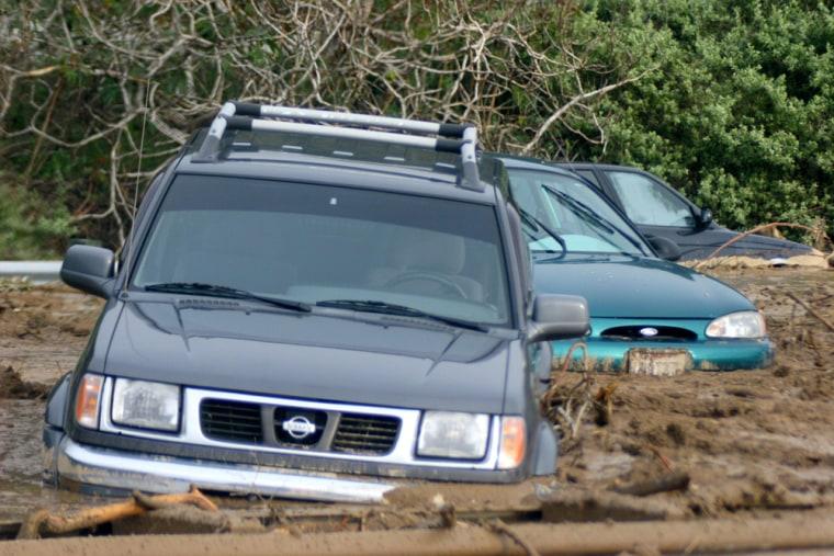 1 Dead, 12 Missing In California Mudslide