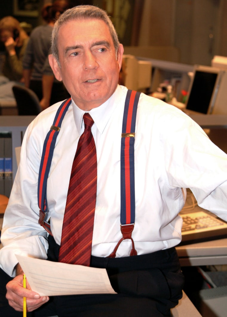 """DanRather's nearly 24-year tenure as anchor of the """"CBS Evening News"""" was clouded by his involvement with the network's story on the president's National Guard service."""