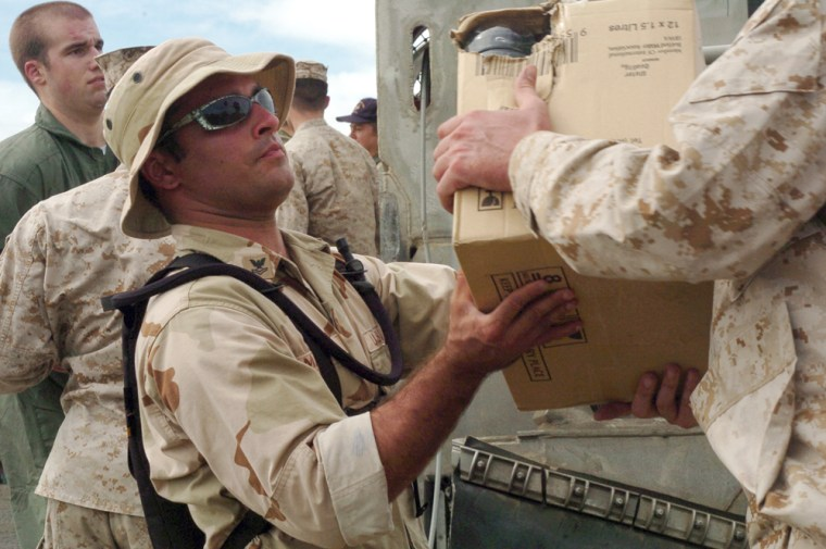 Military Continues With Relief Efforts