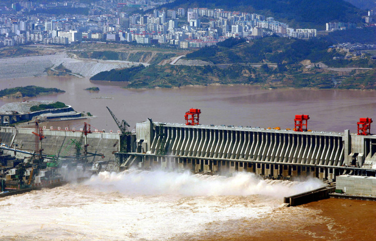 File photo of Three Gorges Dam in China's Hubei Province