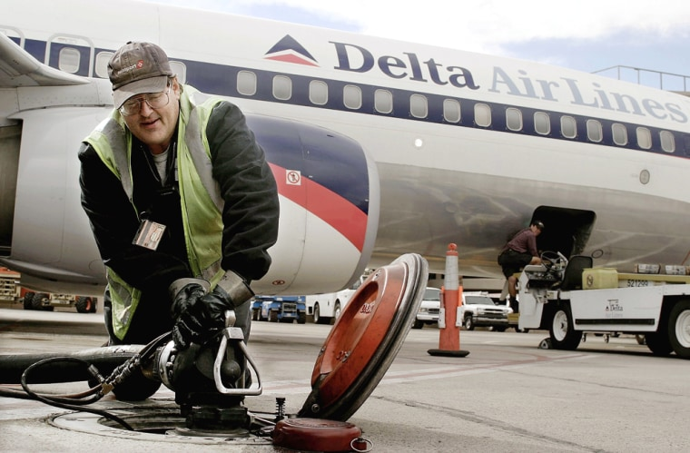 FILE PHOTO: Delta Posts Worst Financial Performance In Industry History