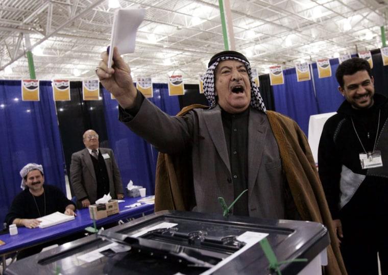 USA IRAQ ELECTIONS