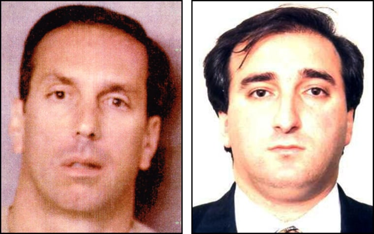 """Salvatore Locascio, left,said to be a """"capo"""" in the Gambino Mafia clan,and Richard Martinoface up to 10 yearsin prison forallegedly orchestratingwhat authorities say is one of the biggest consumer frauds in U.S. history."""