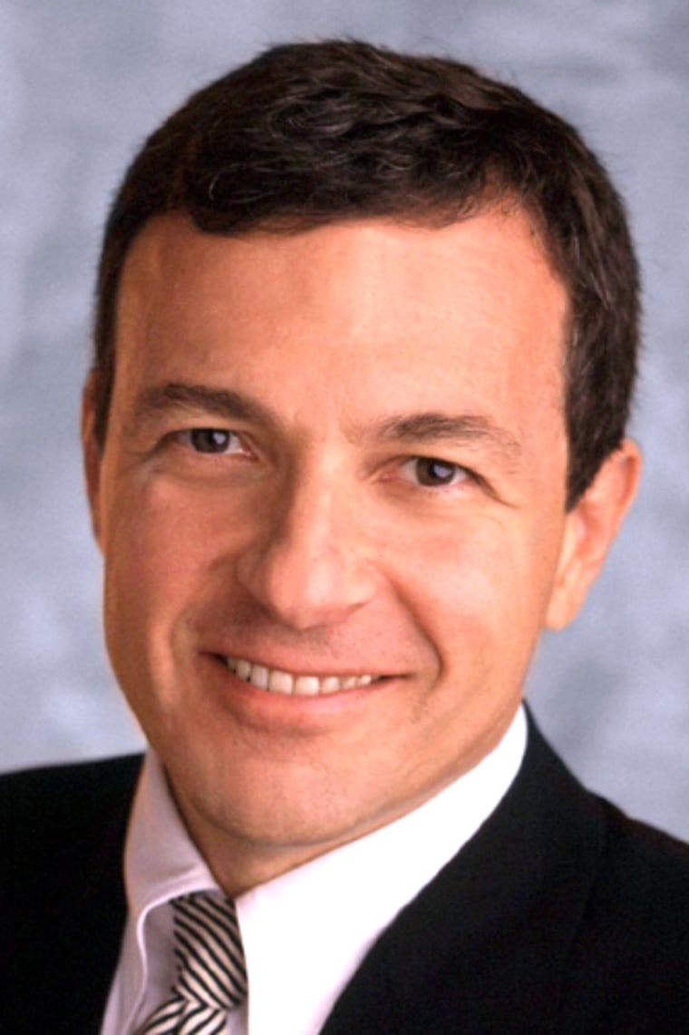 FILE PHOTO OF ROBERT IGER