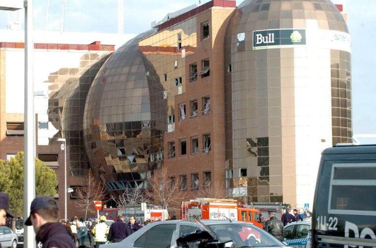 SPAIN CAR BOMB IN MADRID