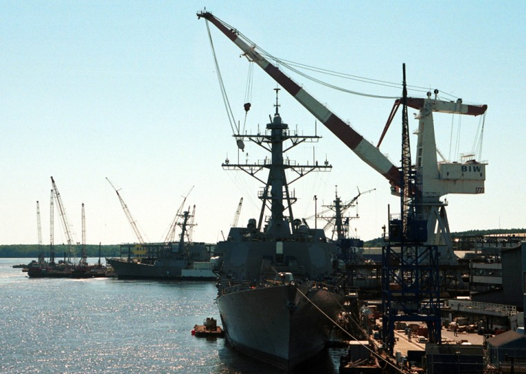 The future is now in doubt forthe Bath Iron Works in Maine, which delivered its first ship to the Navy in 1891.