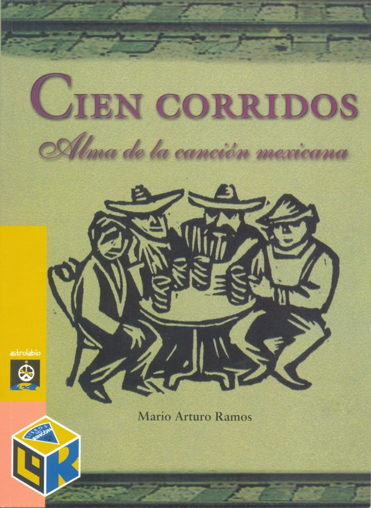 """This is the cover of the book """"100 Corridos: The Heart of Mexican Song,"""" whichglorifies drug traffickers."""