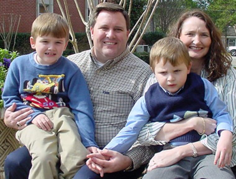 Alan and Lisa Bryant have two boys with autism, Jarrett, left, and Jacob. Lisa Bryant says talking with other parents of children with autism has really helped them cope with the disorder.