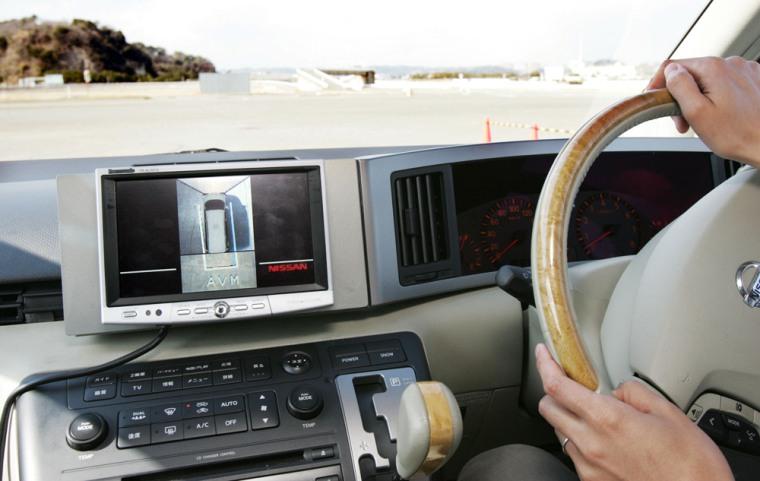 NISSAN CAR  AROUND VIEW MONITOR TEST