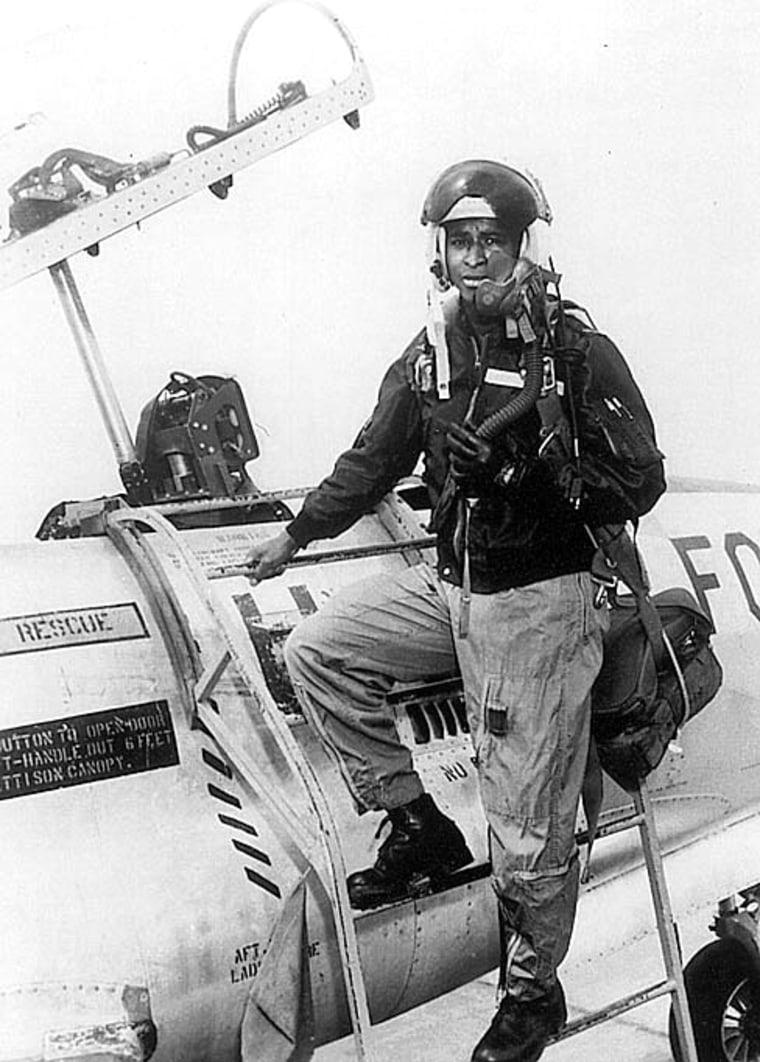 Air Force Maj. Robert H. Lawrence Jr.